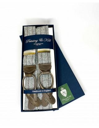 Tweed Hosenträger