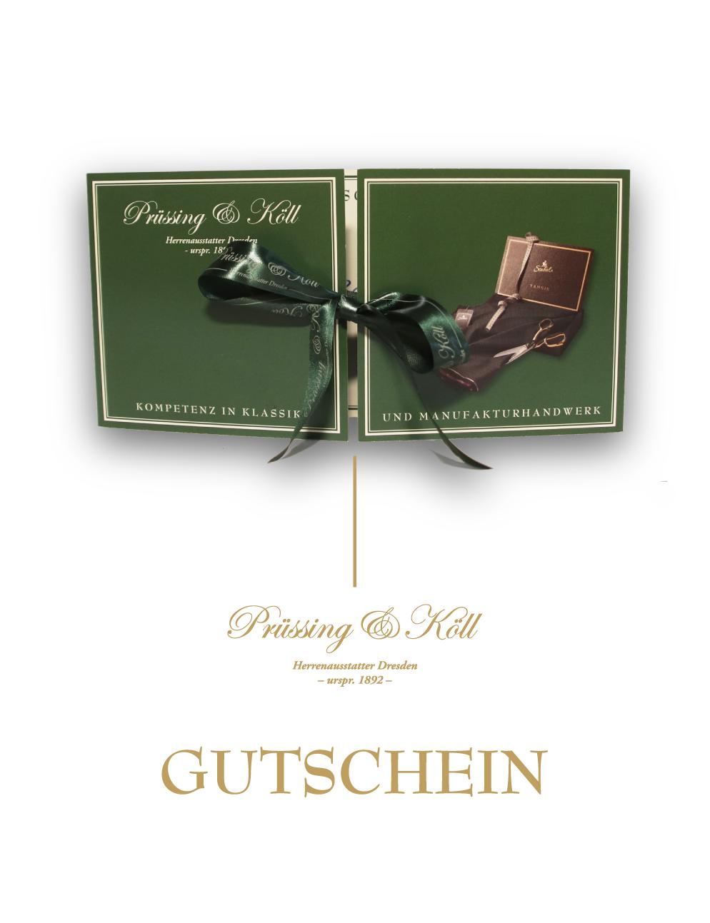 Gutscheine bei Prüssing&Köll erwerben